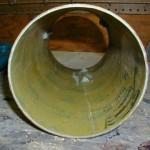 Kevlar reinforced coupler