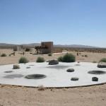 Lunar lander site