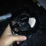 $9 fan from CVS.